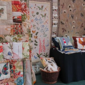 PASHEY MANOR GARDENS Quilts By Lousie Bell By Kate Wilson
