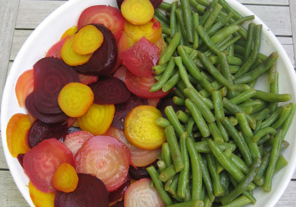 PASHLEY MANOR GARDENS Beetroot And Bean Salad By Kate Wilson