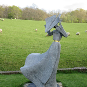 PASHLEY MANOR GARDENS Gale Force Nun II By Philip Jackson By Kate Wilson
