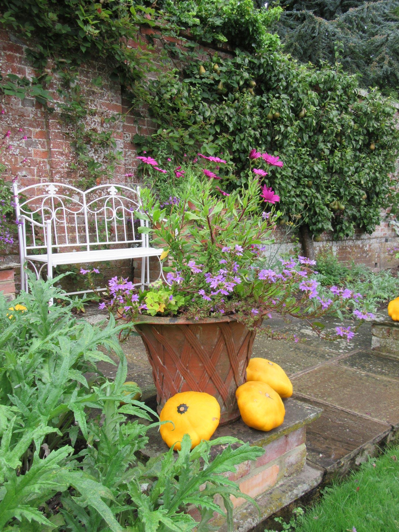 pashley manor gardens kitchen garden pot by kate wilson - Garden Kitchen
