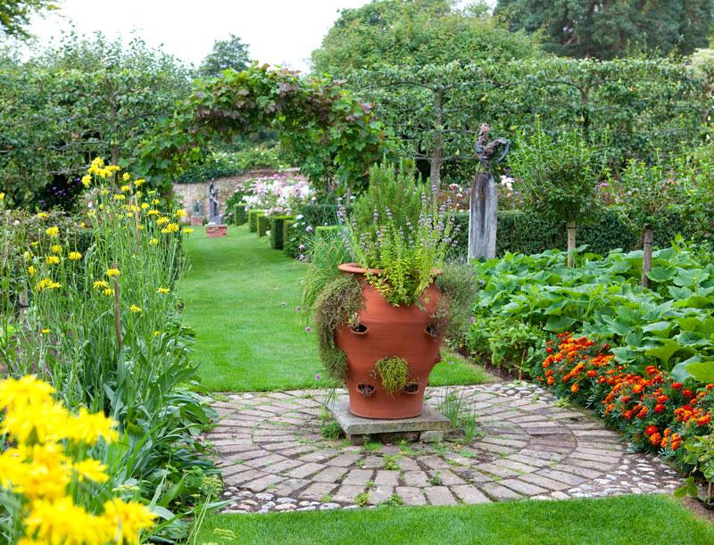 Pashley Manor Gardens Kitchen Garden