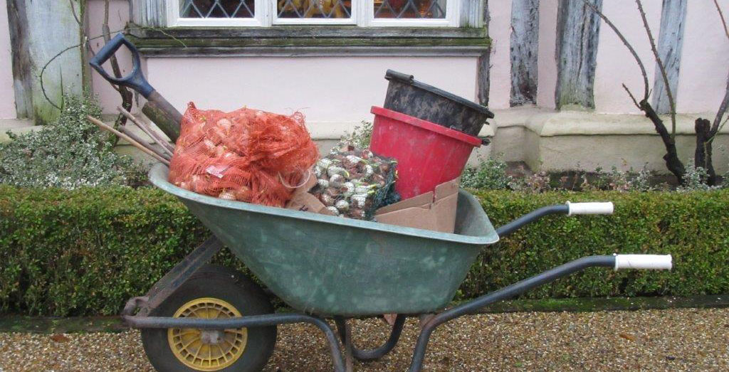 Pashley Manor Gardens Bulb Planting Barrow By Kate Wilson