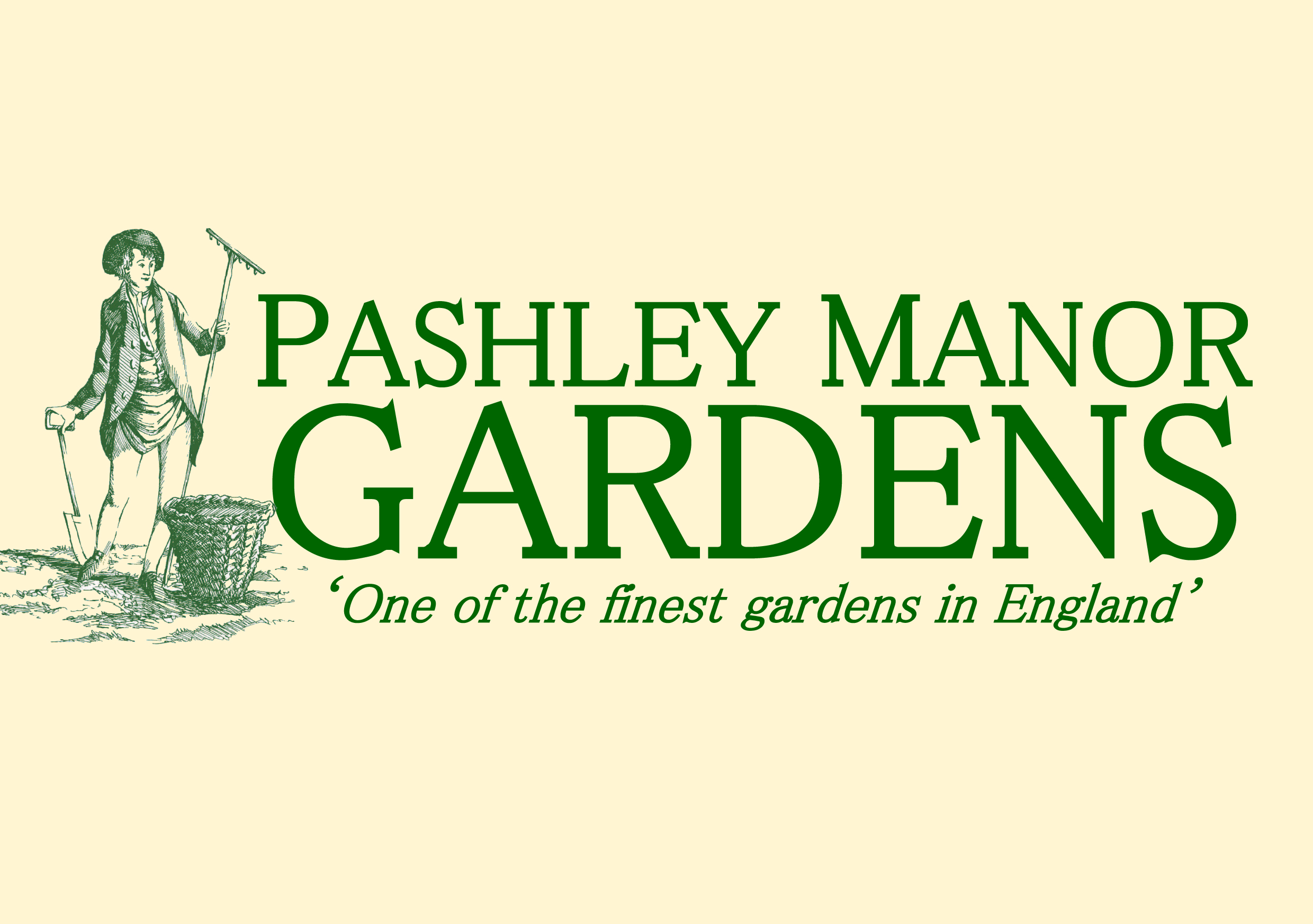 Pashley Manor Gardens A Size Green On Cream 2018